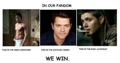 We do win.