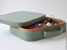 Making a Stylish Box for Storage. DIY Tutorial