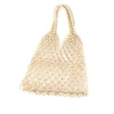 Natalia Petite Macrame Bag - Natural Inné Natalia Petite Macrame Bag in Natural bag Fall Bags, Rope Twist, Net Bag, Macrame Bag, New Handbags, Star Fashion, Timeless Design, Luxury Branding, Style Icons