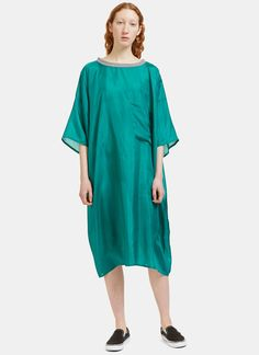 864ade946e74 Von sono long extra oversized t dress in green