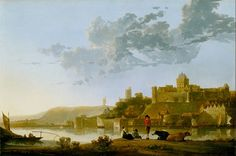 File:Cuyp, Aelbert - The Valkhof at Nijmegen - Google Art Project.jpg