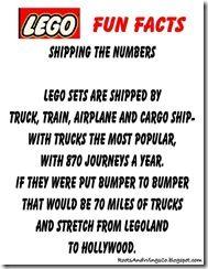 Lego Fun Facts 3 Birthday Party Celebration 3rd Ideas