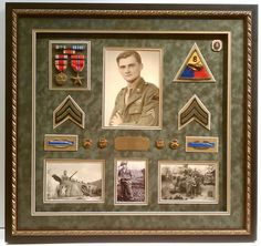 #shadowbox #military display. Preserve your family legacy with custom framing! Come see us at Rider Frames & Gallery in Orchard Park, NY today! #whatsonyourwall