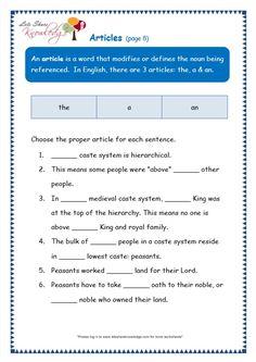 grade 3 grammar topic 34 articles worksheets lets share knowledge moon light english. Black Bedroom Furniture Sets. Home Design Ideas