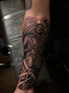 William Wallace statue tattoo