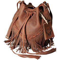 Women Bohemian Leather Fringe Bag Pouch Tribal Tassel Cross-body... ($87) ❤ liked on Polyvore featuring bags, handbags, shoulder bags, fringe crossbody purse, brown leather crossbody, cross-body handbag, brown leather shoulder bag and leather handbags