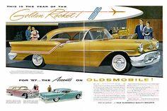 Oldsmobile 1957 Rocket 88 (November 1956 ad)