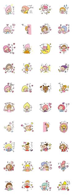 Angel stamp LOVE
