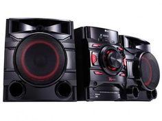 Mini System LG Bluetooth USB MP3 CD Player - Rádio AM/FM 440W CM4460 com as melhores condições você encontra no Magazine 1muitomais. Confira!