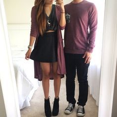 Matching couples outfit …