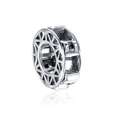 Water wheel Charm 925 Sterling Silver