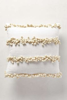 Anthropologie - Tassel Trace Pillow