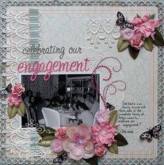 celebrating our engagement {ScrapThat! June Kit Reveal} - Scrapbook.com