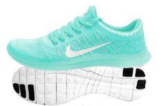 424FO Women Nike Free 3.0 V6 Fly Line Tiffany Blue Size 5.5