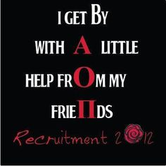 For the AOII in my life