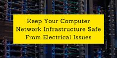 #Electrical Tips for #Computer Network Installation. #Safety