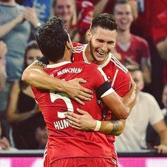 Sule's first goal for Bayern Munich #FCBB04