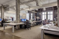FORm_office installed in the San Francisco office of landscape architecture firm, SWA Group. © Innovant, Inc. Photographed by Sherman Takata. Office Fit Out, Cool Office, Work Desk, Group Work, Commercial Interiors, Working Area, Contemporary Design, Minimalism, Work Spaces