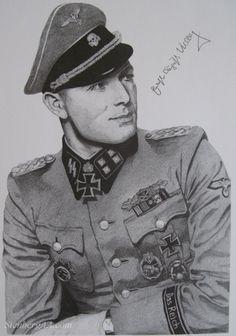 Sturmbannführer Ernst-August Krag/ 2. SS Panzer Division Das Reich. Ernst August, The Third Reich, Important People, World War Two, Hugo Boss, Division, Soldiers, Ww2, Captain Hat