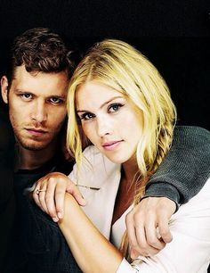 Yes, Rebekah and Niklaus may be siblings, but goodness they're hot together!
