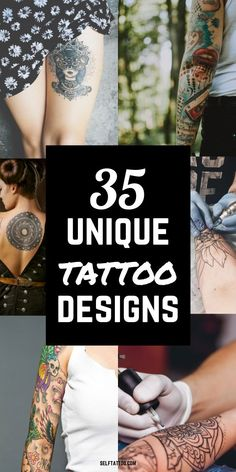 35 Unique Tattoo Designs | Unique Tattoos - Are you struggling to decide on a tattoo design? With so many choices out there, it can be overwhelming! Click here for 35 unique and uncommon tattoos that can help narrow down your search. Self Tattoo | Tattoo Ideas | Tattoo Designs | Tattoo Ideas for Female | Tattoo Ideas for Men | Tattoo Ideas Small | Unique Minimalist Tattoos | Tattoos for Women | Tattoos for Guys #tattoos #bodytattoos #design #bodyart Meaningful Tattoos For Men, Small Tattoos For Guys, Tattoos For Women, Minimalist Tattoo Meaning, Minimalist Tattoos, Creative Tattoos, Unique Tattoos, Body Tattoos, Sleeve Tattoos