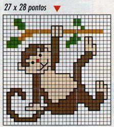 animali bambini piccola scimmietta