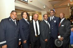 African American leadership in the San Francisco Fire Department at the MLK2014 Labor and Community Breakfast.