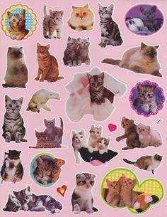 Kitties Stickers