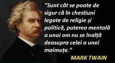 Vestitul scriitor Mark Twain, renumit, printre altele, ca cel mai mare umorist american, a scris într-un registru satiric despre multe meteh... Mark Twain, Mai, Memes, Meme