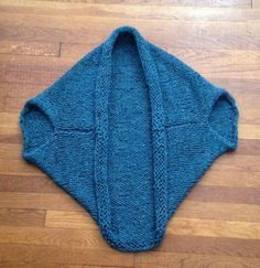 Quick and Easy Shrug Cocoon Sweater Blanket Free Knitting Pattern Vzory Na  Pletenie 45d644825b