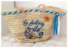 Capazo Dolce Vita- Wicker basket Dolce Vita