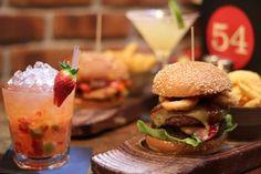 Cool menu burguer