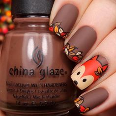 43 Gorgeous Nail Art Designs You Can Try this Fall