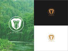 Vector Logo (Bekantan)  Nasalis larvatus By Senikid