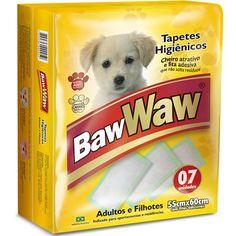 Tapete Higiênico para Cães Adultos e Filhotes Baw Waw - MeuAmigoPet.com.br #petshop #cachorro #cão #meuamigopet