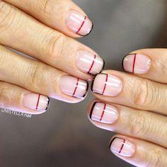 """""""[#유니스텔라트렌드] MINIMAL HOLENAIL #linenails #holenails#유니스텔라 #네일디자이너  #unistella #gelnails #nailart  #nails #nail #nailedit #nailswag ✔️유니스텔라 내의 모든 이미지를…"""""""
