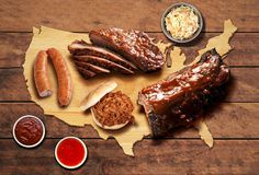 The Best BBQ in Every State (and DC) - Our country 'tis of thee, sweet land of... burgers, pizza, and barbecue. We've already combed the map for the best burgers and pizza in all 50 corners of America (and DC), so it was time to take up the patriotic task of finding the most succulent barbecue in every state. Photo - SHUTTERSTOCK / JENNIFER BUI/THRILLIST