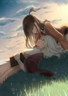 Online manga reader for scanlations released by Dynasty Scans and other Yuri groups. Little Witch Academia Diana, Little Wich Academia, Lwa Anime, Some Beautiful Pictures, Lesbian Love, Cute Anime Couples, Anime Art Girl, Anime Girls, Cute Characters