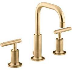 Kohler brushed gold faucet