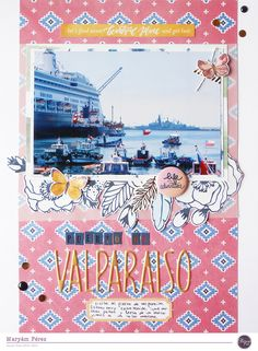 puerto de valparaíso by maryamperez at @studio_calico