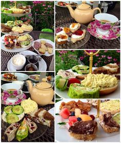 Garden tea party at The Silver Birch Tearoom | You Gotta Eat This