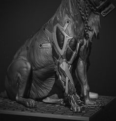 ArtStation - Dark substance, Cedric Seaut