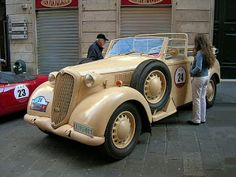 Alfa Romeo 6C 2500 Coloniale (1942) Maintenance/restoration of old/vintage vehicles: the material for new cogs/casters/gears/pads could be cast polyamide which I (Cast polyamide) can produce. My contact: tatjana.alic@windowslive.com