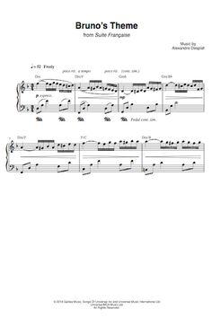 Bruno's Theme - Suite Française | Alexandre Desplat