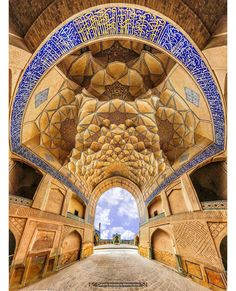 Jameh Mosque of Isfahan Iran