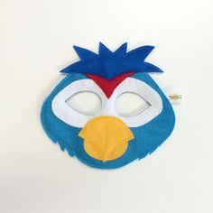 Opposite of Far Parrot Mask