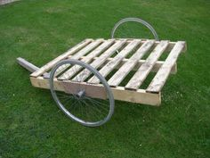 trailer,....maybe make with rails, so you can haul things around the yard.