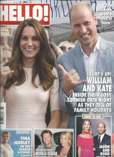 Hello magazine Kate Middleton Prince William Jason Statham Michelle Keegan