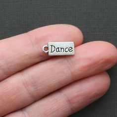 10 Dance Charms Antique Tibetan Silver Tone by BohemianFindings, $2.50