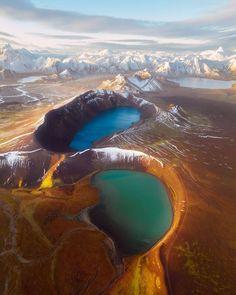 "wanderloco: ""First Frost at Landmannalaugar - @karl_shakur """